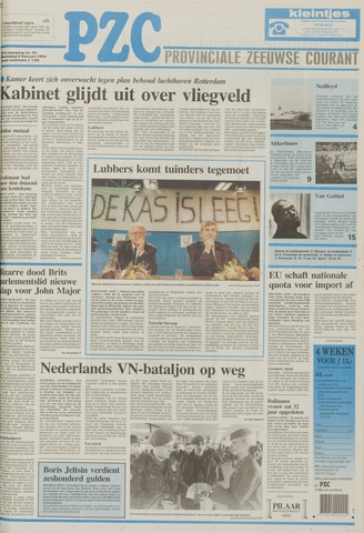 Provinciale Zeeuwse Courant 1994-02-09