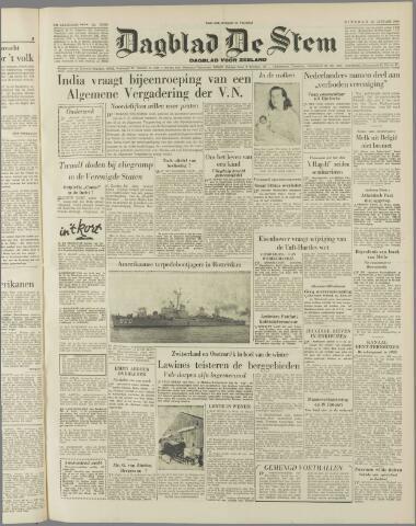 de Stem 1954-01-12