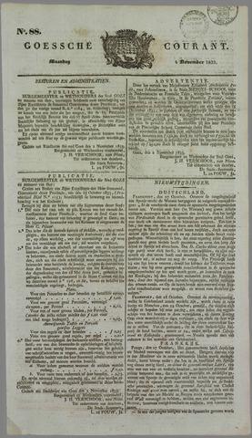 Goessche Courant 1833-11-04