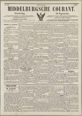 Middelburgsche Courant 1901-09-26