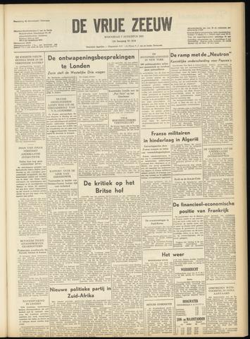de Vrije Zeeuw 1957-08-07