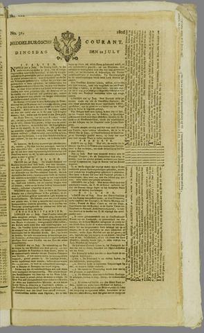 Middelburgsche Courant 1806-07-22