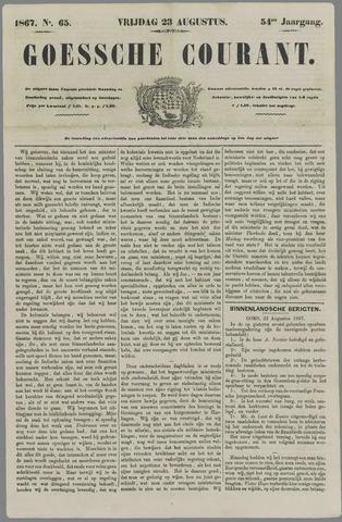 Goessche Courant 1867-08-23