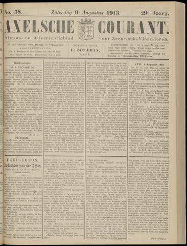 Axelsche Courant 1913-08-09