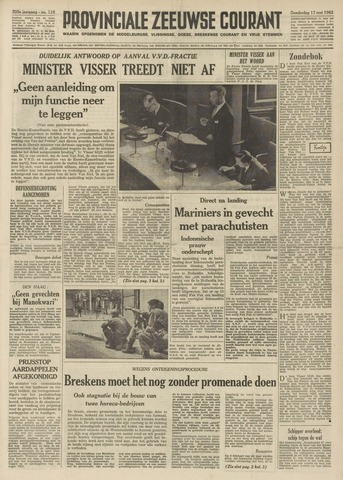Provinciale Zeeuwse Courant 1962-05-17
