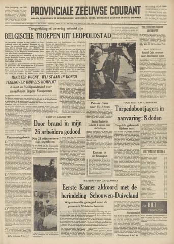 Provinciale Zeeuwse Courant 1960-07-20