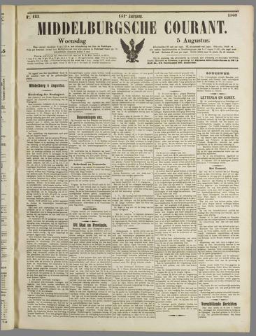 Middelburgsche Courant 1908-08-05