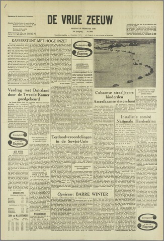 de Vrije Zeeuw 1963-02-22