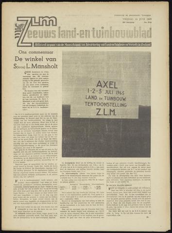 Zeeuwsch landbouwblad ... ZLM land- en tuinbouwblad 1965-06-18