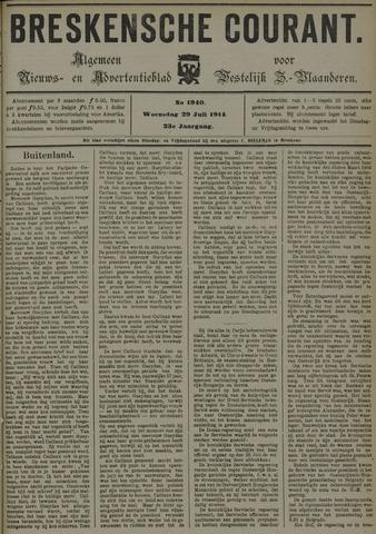 Breskensche Courant 1914-07-29
