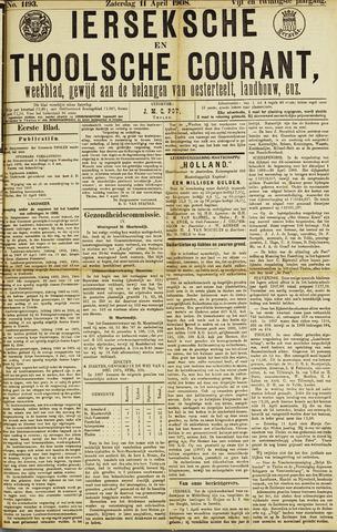 Ierseksche en Thoolsche Courant 1908-04-11