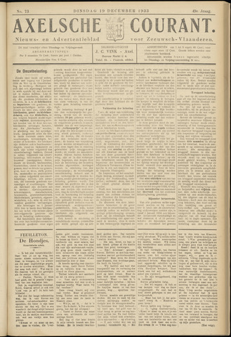 Axelsche Courant 1933-12-19