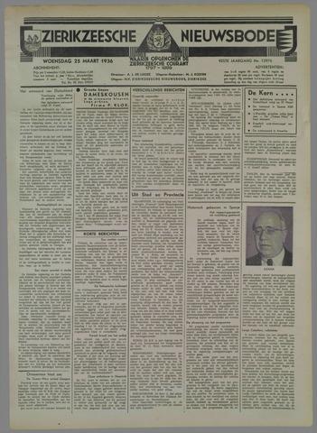 Zierikzeesche Nieuwsbode 1936-03-25