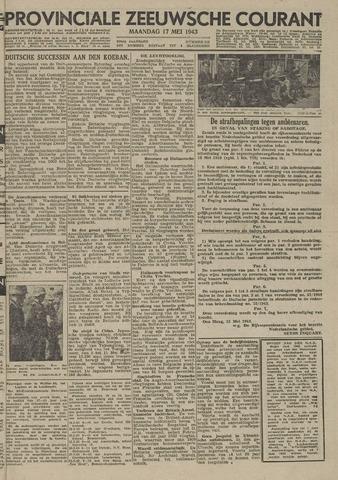 Provinciale Zeeuwse Courant 1943-05-17