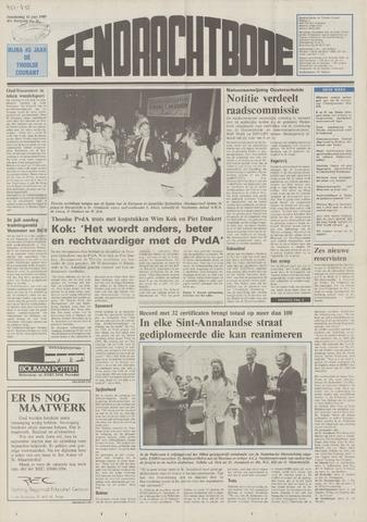 Eendrachtbode (1945-heden)/Mededeelingenblad voor het eiland Tholen (1944/45) 1989-06-15