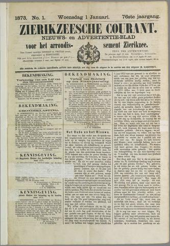 Zierikzeesche Courant 1873