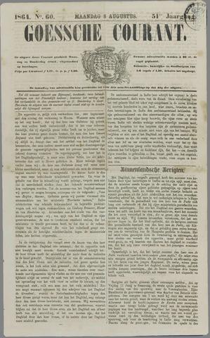 Goessche Courant 1864-08-08