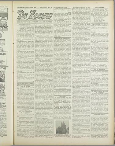 De Zeeuw. Christelijk-historisch nieuwsblad voor Zeeland 1944-01-22
