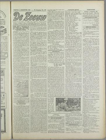 De Zeeuw. Christelijk-historisch nieuwsblad voor Zeeland 1943-08-06