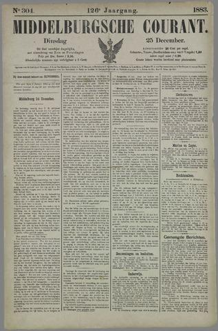 Middelburgsche Courant 1883-12-25