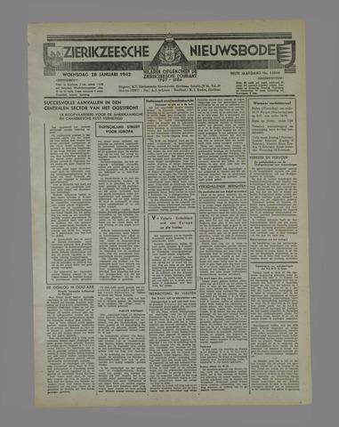 Zierikzeesche Nieuwsbode 1942-01-28