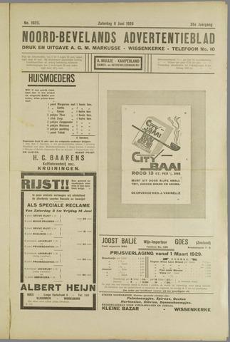 Noord-Bevelands Nieuws- en advertentieblad 1929-06-08