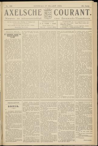 Axelsche Courant 1931-03-17
