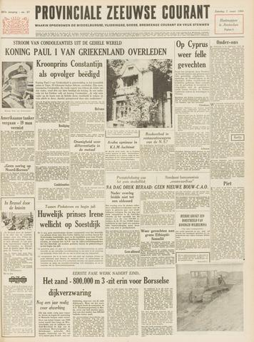 Provinciale Zeeuwse Courant 1964-03-07