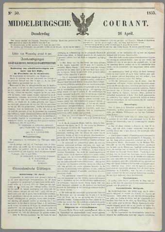 Middelburgsche Courant 1855-04-26
