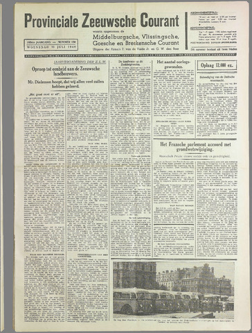 Provinciale Zeeuwse Courant 1940-07-10