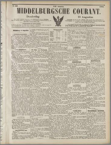 Middelburgsche Courant 1903-08-13