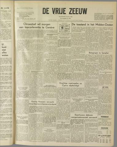 de Vrije Zeeuw 1958-07-21