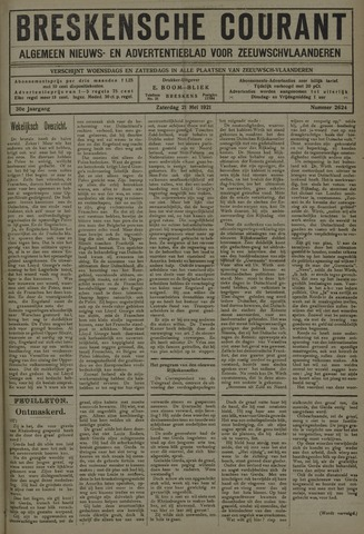 Breskensche Courant 1921-05-21