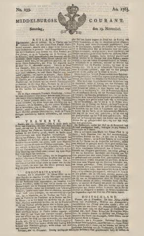 Middelburgsche Courant 1763-11-19