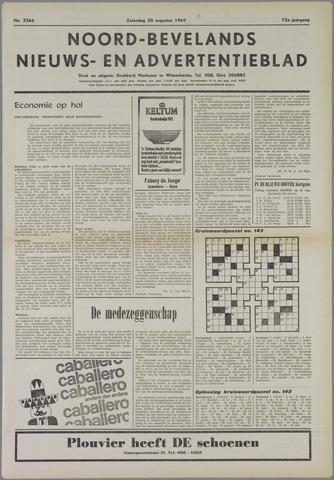 Noord-Bevelands Nieuws- en advertentieblad 1969-08-30