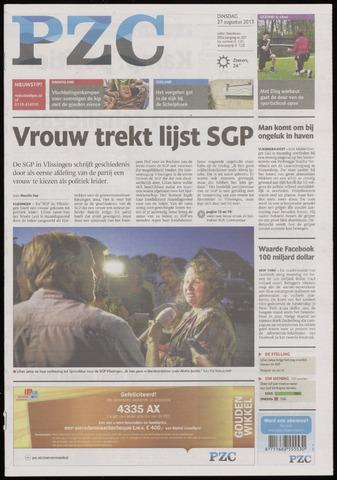 Provinciale Zeeuwse Courant 2013-08-27