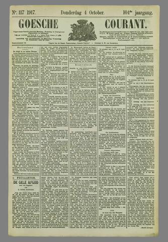 Goessche Courant 1917-10-04