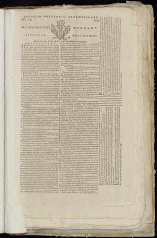 Middelburgsche Courant 1799-10-12
