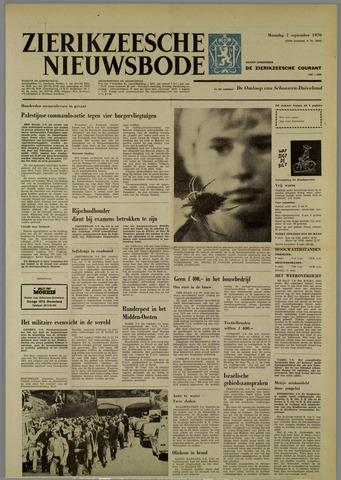 Zierikzeesche Nieuwsbode 1970-09-07