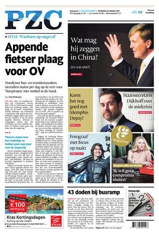 Provinciale Zeeuwse Courant 2015-10-24