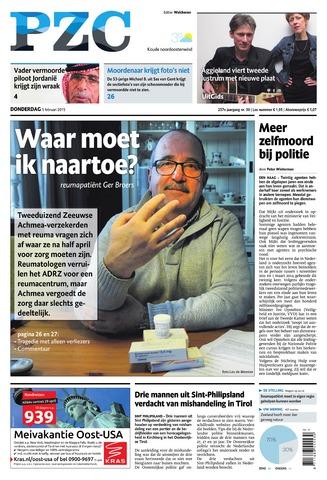 Provinciale Zeeuwse Courant 2015-02-05