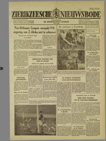 Zierikzeesche Nieuwsbode 1960-04-01