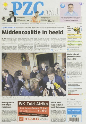 Provinciale Zeeuwse Courant 2010-06-23