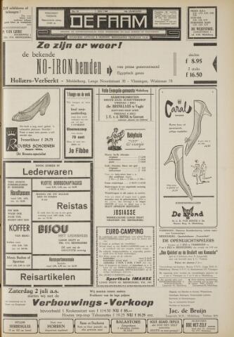 de Faam en de Faam/de Vlissinger 1960-07-01