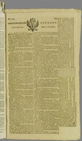 Middelburgsche Courant 1805-10-05
