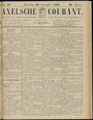 Axelsche Courant 1910-11-26
