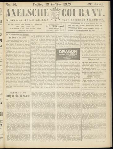 Axelsche Courant 1923-10-19
