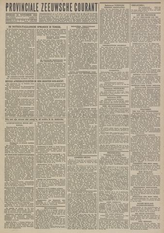 Provinciale Zeeuwse Courant 1942-11-24