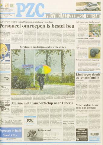 Provinciale Zeeuwse Courant 2003-10-25