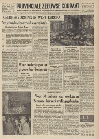 Provinciale Zeeuwse Courant 1958-12-27